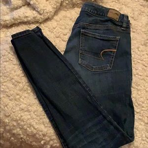 American eagle jeans, worn size 10.